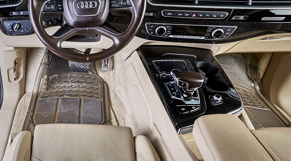 רכב ושטיחי סיליקון רגילים