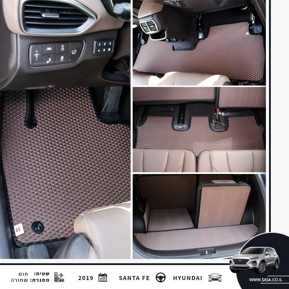 גלריית תמונות של שטיחים לרכב   קולאז' של שטיחים לרכב יונדאי