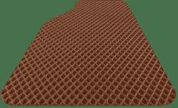 תמונה המסמלת צבע חום לשטיח הרכב