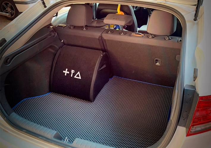 ארגונית לתא מטען הרכב | אביזר לרכב ברמת גימור גבוהה