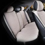כיסוי מושבים לרכב בצבע בז' | סט מלא של כיסוי מושבים לרכב 5 מושבים