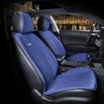 כיסוי מושבים לרכב בצבע כחול