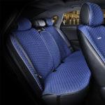 כיסוי מושבים לרכב בצבע כחול | סט מלא של כיסוי מושבים לרכב 5 מושבים