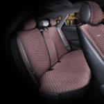כיסוי מושבים לרכב בצבע חום | סט מלא של כיסוי מושבים לרכב 5 מושבים