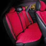 כיסוי מושבים לרכב בצבע אדום | סט מלא של כיסוי מושבים לרכב 5 מושבים
